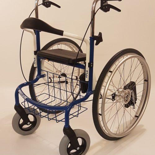 Wheellator Blue and White